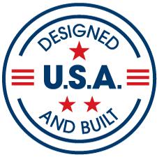 designed and built USA